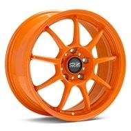 O.Z. Alleggerita HLT Orange Painted Wheels