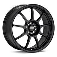 O.Z. Alleggerita HLT Black Painted Wheels
