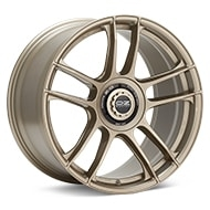 O.Z. Indy HLT White Gold Painted Wheels