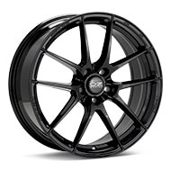 O.Z. Leggera HLT Gloss Black Painted Wheels