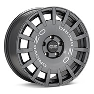 O.Z. Rally Racing Dark Graphite Wheels