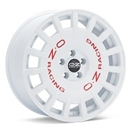 O.Z. Rally Racing White Painted Wheels