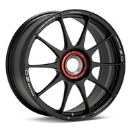 O.Z. Racing Atelier Forged Superforgiata CenterLock Black Painted Wheels