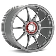 O.Z. Racing Atelier Forged Superforgiata CenterLock Light Grey Painted Wheels