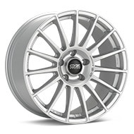 O.Z. Superturismo Dakar Bright Silver Paint Wheels