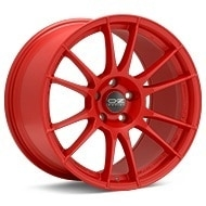 O.Z. Ultraleggera HLT Red Painted Wheels