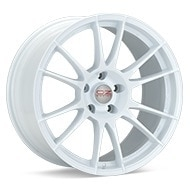 O.Z. Ultraleggera HLT White Painted Wheels