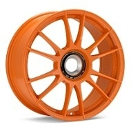 O.Z. Ultraleggera HLT CentLock Orange Painted Wheels