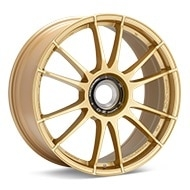O.Z. Ultraleggera HLT CentLock Gold Painted Wheels