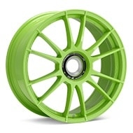 O.Z. Ultraleggera HLT CentLock Green Painted Wheels