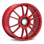 O.Z. Ultraleggera HLT CentLock Red Painted Wheels