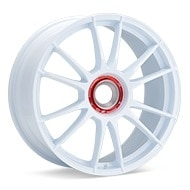 O.Z. Ultraleggera HLT CentLock White Painted Wheels