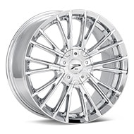 Platinum Genesis Chrome Plated Wheels