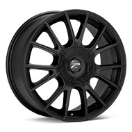 Platinum Marathon Black Painted Wheels