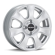 RADIUS W061 Silver Painted Wheels