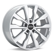 RADIUS WI15 Silver Painted Wheels