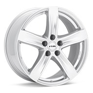 Rial Arktis Bright Silver Paint Wheels