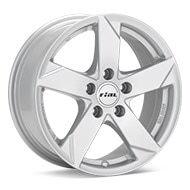 Rial Kodiak Bright Silver Paint Wheels