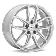 Rial Lucca Bright Silver Paint Wheels