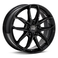 Rial Lucca Gloss Black Painted Wheels