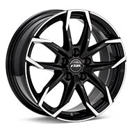 Rial Lucca Machined w/Black Accent Wheels
