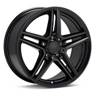 Rial M10 Black Painted Wheels