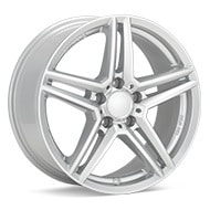 Rial M10 Bright Silver Paint Wheels