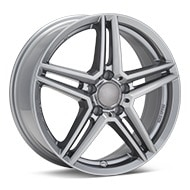 Rial M10 Metal Grey Wheels