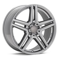 Rial M10X Metal Grey Wheels