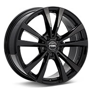 Rial M12 Gloss Black Painted Wheels
