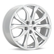 Rial W10X Bright Silver Paint Wheels