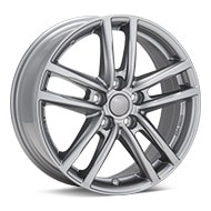 Rial X10 Metal Grey Wheels