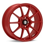 Sparco Assetto Gara Red Painted Wheels