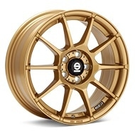 Sparco Assetto Gara Rally Gold Painted Wheels