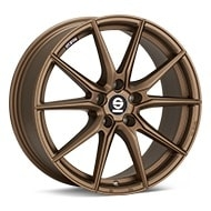 Sparco DRS Rally Bronze Painted Wheels
