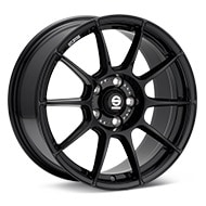 Sparco FF-1 17 Gloss Black Painted Wheels