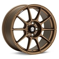 Sparco FF-1 17 Rally Bronze Painted Wheels