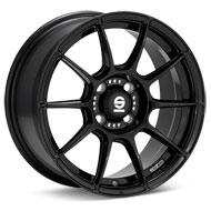 Sparco FF-1 Gloss Black Painted Wheels