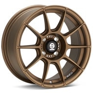 Sparco FF-1 Rally Bronze Painted Wheels