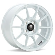 Sparco FF-1 White Painted Wheels