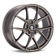 Sparco Podio Bronze Painted Wheels