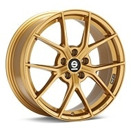 Sparco Podio Gold Painted Wheels