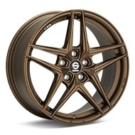 Sparco Record Rally Bronze Painted Wheels