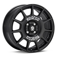 Sparco Terra Black Painted Wheels