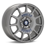 Sparco Terra Light Grey Painted Wheels