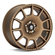 Sparco Terra Rally Bronze Painted Wheels