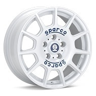 Sparco Terra White Painted Wheels