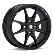 Sparco Trofeo 4 Black Painted Wheels