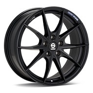 Sparco Trofeo 5 Black Painted Wheels
