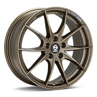 Sparco Trofeo 5 Bronze Painted Wheels